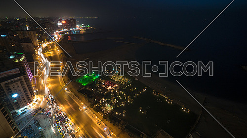 Long Shot for Alexandria City atnight