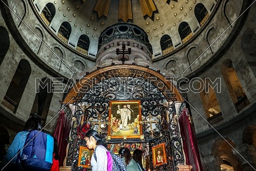 Preparations begin to celebrate Christmas from inside the Church of the Holy Sepulcher in Jerusalem