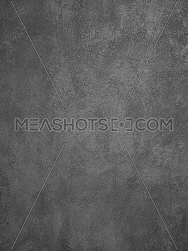 Background texture of uneven dark gray concrete or plaster wall surface