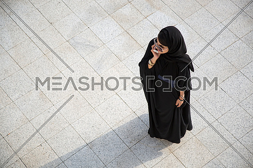 top shot for Saudi lady on a call