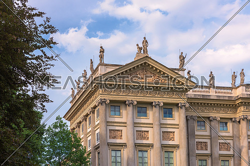 Villa Reale neoclassic style milan,italy