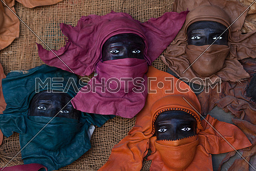 Nubian faces masks