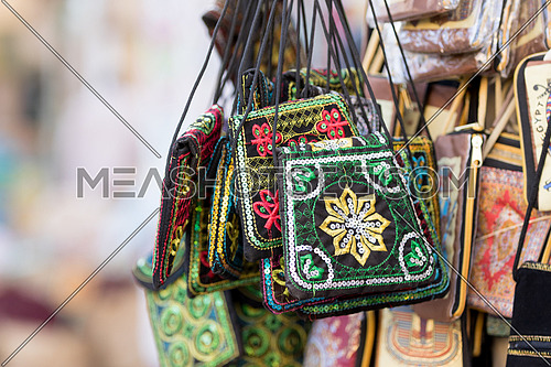 oriental authentic Souvenirs sold in Aswan market