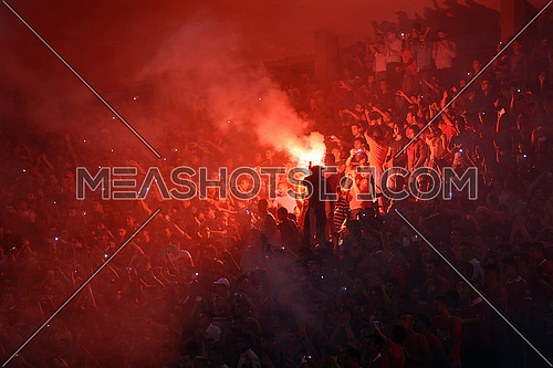 Al Ahly Club fans in stadium