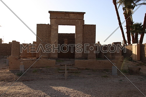 a photo of a monument in Luxor Temple in luxor city, Egypt