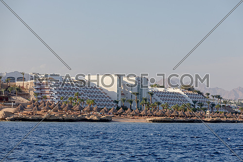 Long shot for Sheraton Hotel in Sharm El Shaikh City by day