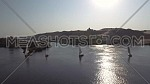 flying over Boats in The River Nile in Aswan