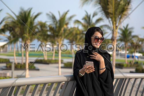 Saudi lady in a holiday in Jeddah city 2