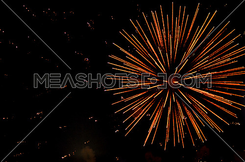 bright fireworks, holidays