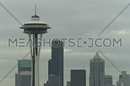Seattle's Space Needle early morning (1 of 2)