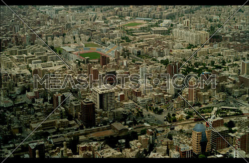 Ariel shot for Suez City at day.