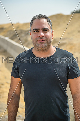 Egyptian Actor Mohamed Shaheen on 20 October 2015