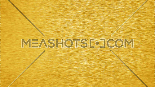 Background texture of brushed golden metal surface