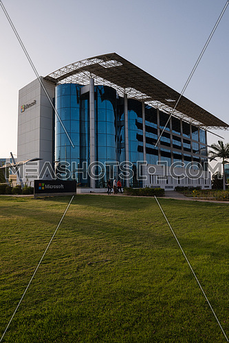 Microsoft office building in smart village egypt