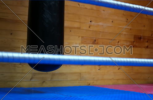 place for exercising and boxing