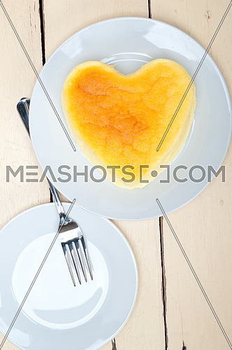 heart shaped cheesecake ideal cake for valentine day