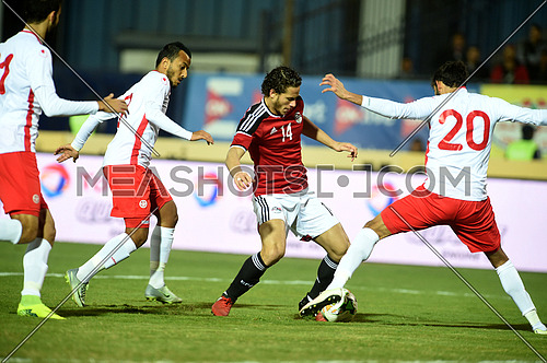 Egypt verses Tunis football match world cup 2018 qualification