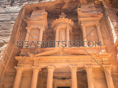 The famous historical site Petra, Jordan