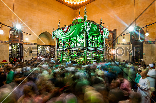 Sufi celebrations in the tomb of Sayyid el Badawi Tanta 20/10/2016