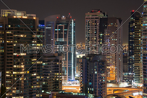 high rise Buikdings in dubai marina area