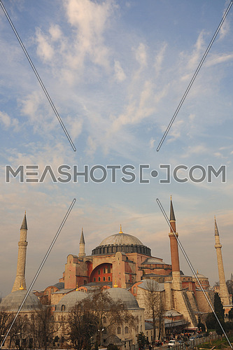 hagia sophia mosque and church in istanbul turkey