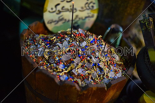 Traditional incense sticks in the Middle East