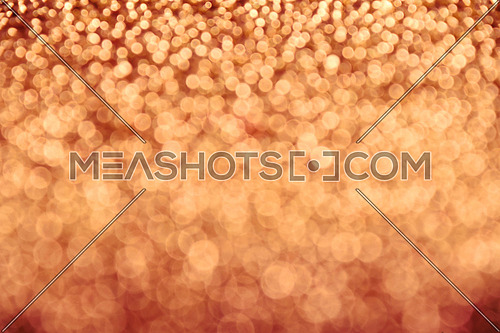 Autumn warm glitter bright magic fairy light fall circles abstract blur effect background