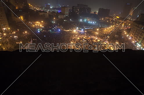 Jib Up Top Timelapse shot for Tahrir Square during 2011 revolution