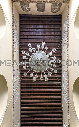 ELHakem Mosque ceiling chandelier