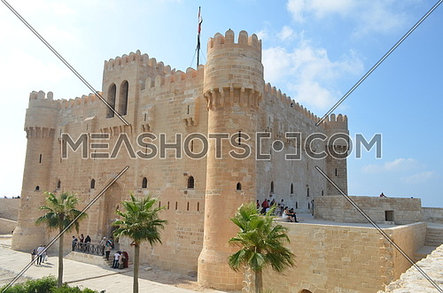 The citadel of Qaitbay , Alexandria
