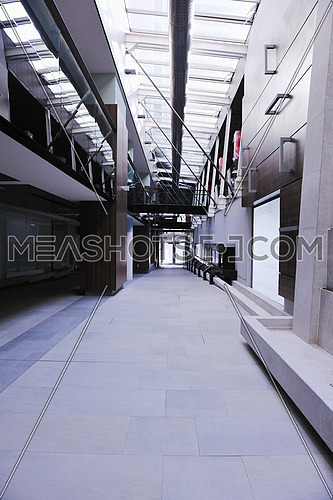 bright modern building interior concstruction