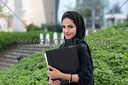 Smiling student after her exam 2