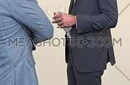 business men infront of each other