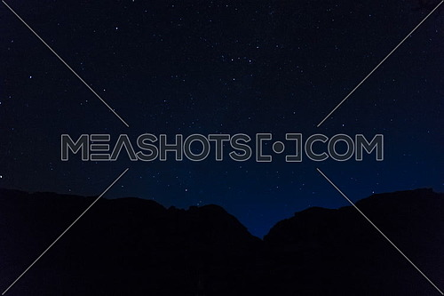 Timelapse for stars from Sinai Mountain at night.