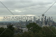 A cloudy morning in downtown Seattle (1 of 2)