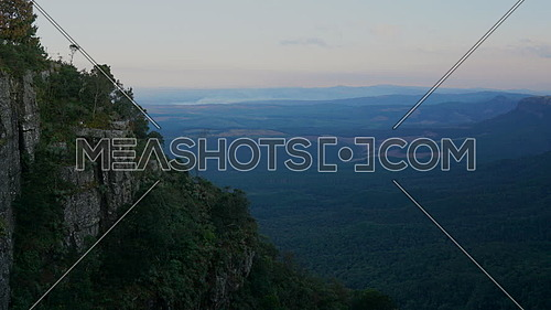 Time lapse view at God's Window South Africa
