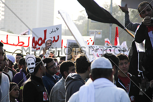 Protests in the 25th Jan revolution 1st Anniversry