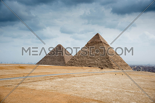 The Greatest Building on Earth, the Pyramids in Cairo Egypt