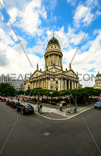 The French cathedral in berlin germany