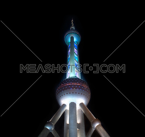 shanghai pearl TV tower