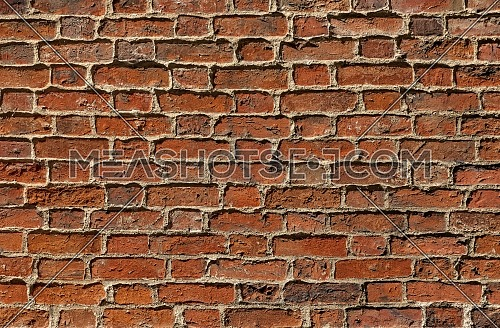 Colourful brick weaving architectural background texture
