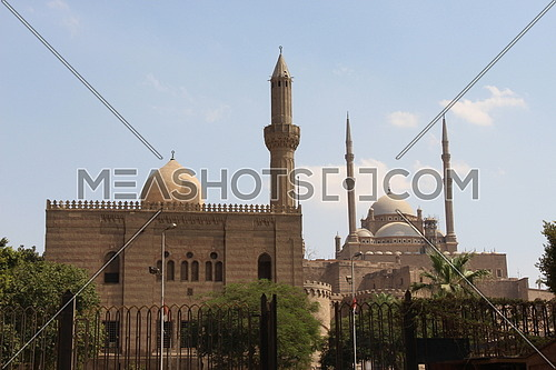 a photo for Mohamed Ali Mosque and square in Egypt ,old Cairo