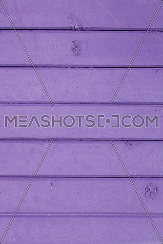 Close up background texture of purple violet vintage painted wooden planks, rustic style wall panel