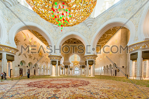Sheikh Zayed Mosque Abou Dhabi, UAE