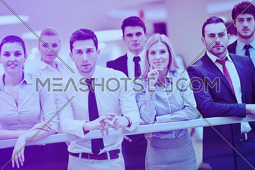 portrait of business people  team  group at modern bright office