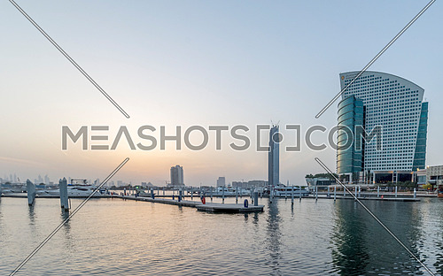 a bay in dubai