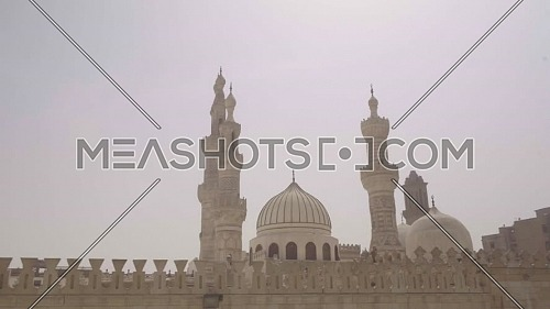 Reveal Shot for Al-Azhar Mosque in Cairo by day