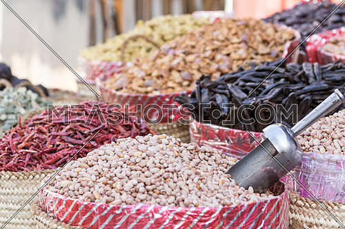 Peanuts sold in Aswan market