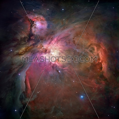 An unprecedented look at the Orion Nebula