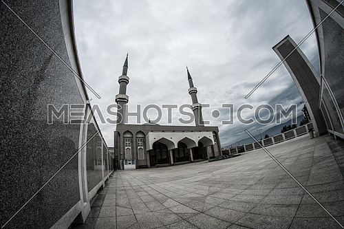 Mosque in Sarajevo Bosnia and Herzegovina